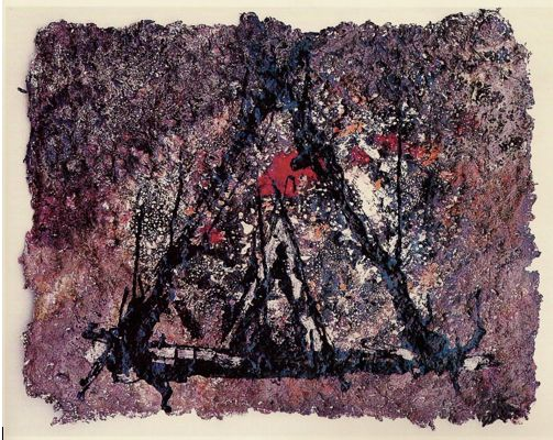 Larbi Arezki délivre à la galerie