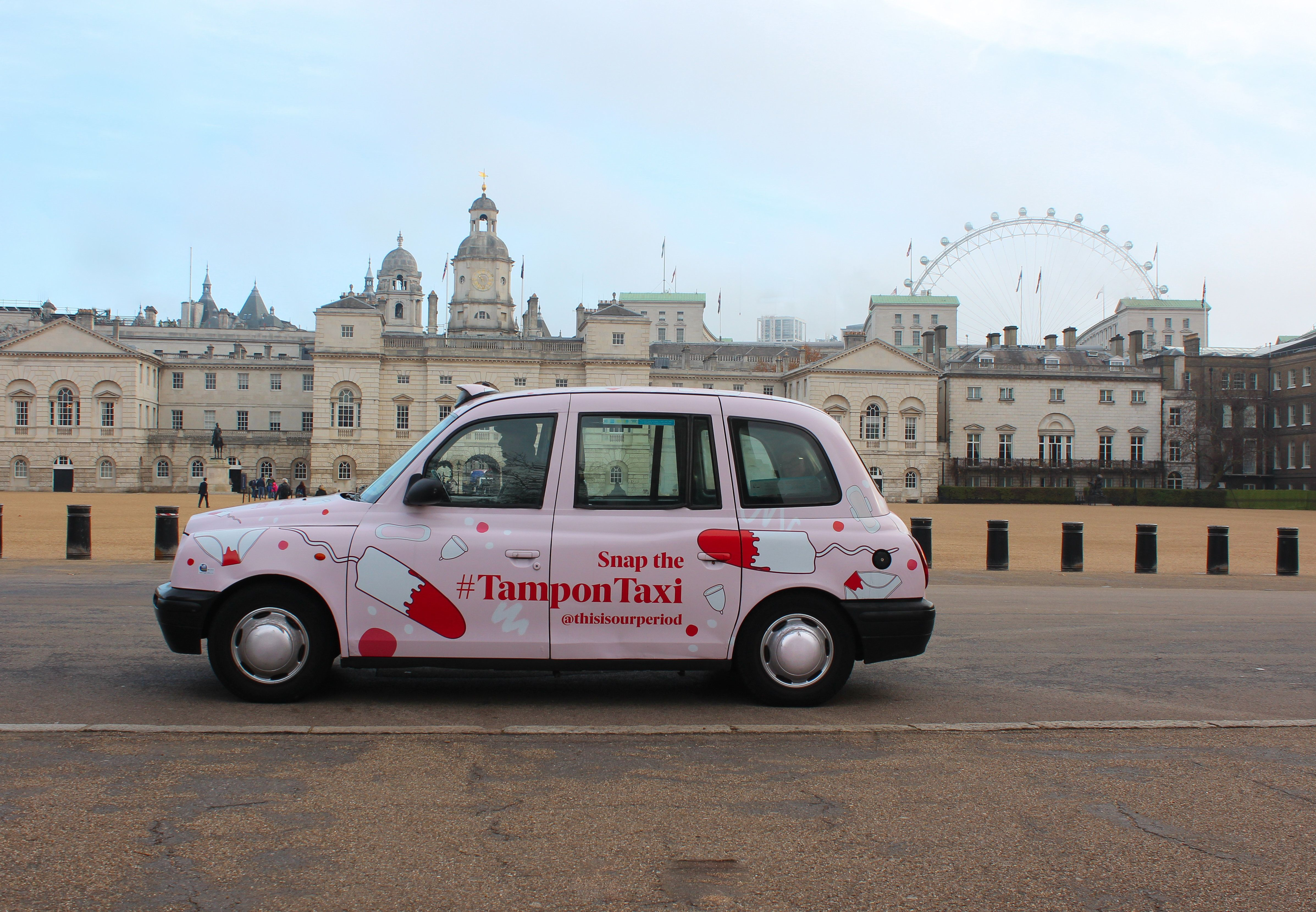 This Tampon Taxi Is Delivering Sanitary Products To Homeless