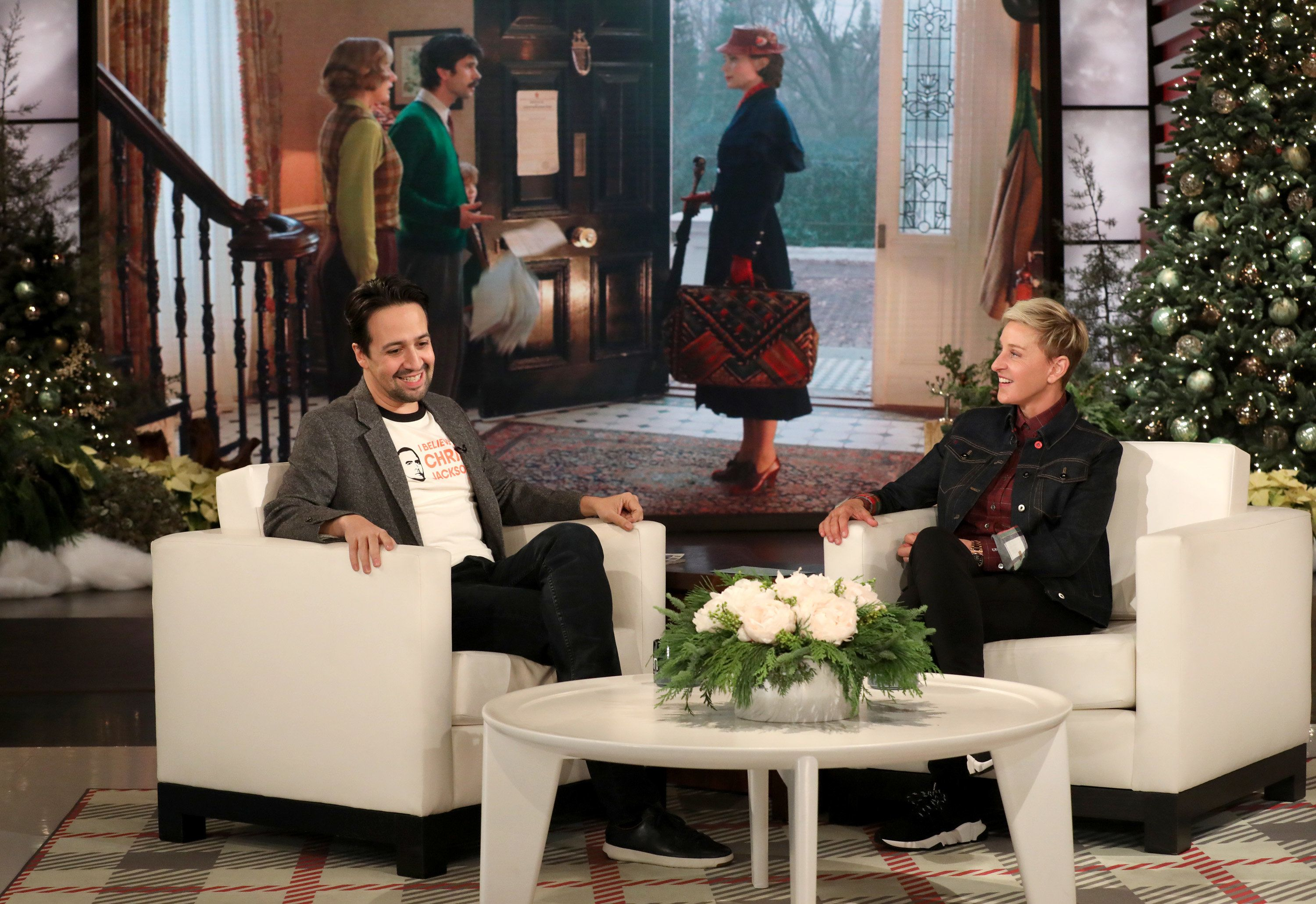 Lin-Manuel Miranda Had The 'Hardest 10 Seconds Of His Life' In 'Mary Poppins