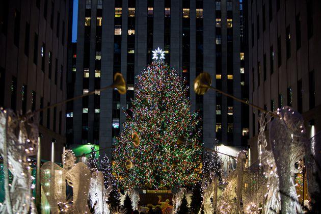 The Rockefeller Center Christmas tree in