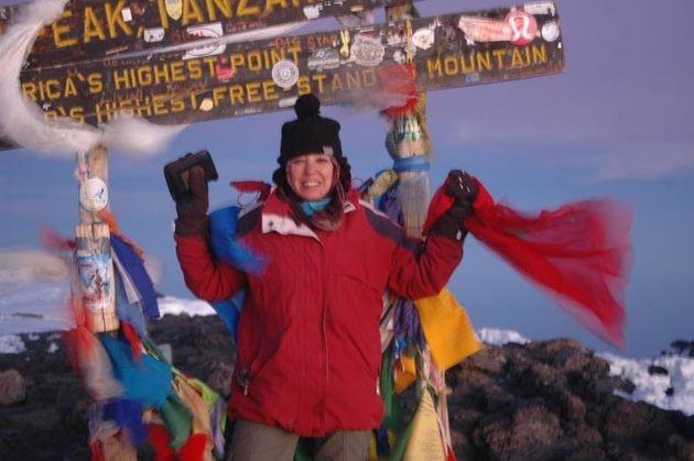 Après l'Everest, Bouchra Baibanou s'attaque au dernier plus haut sommet du