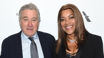 NEW YORK, NY - APRIL 30:  Actor Robert De Niro (L) and Grace Hightower attend the 45th Chaplin Award Gala at the Alice Tully Hall  on April 30, 2018 in New York City.  (Photo by Jamie McCarthy/Getty Images)