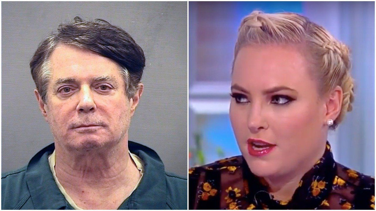 Paul Manafort/ Meghan McCain