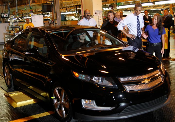 President Barack Obama loved to talk about the Volt and his administration took steps to support vehicles like it.