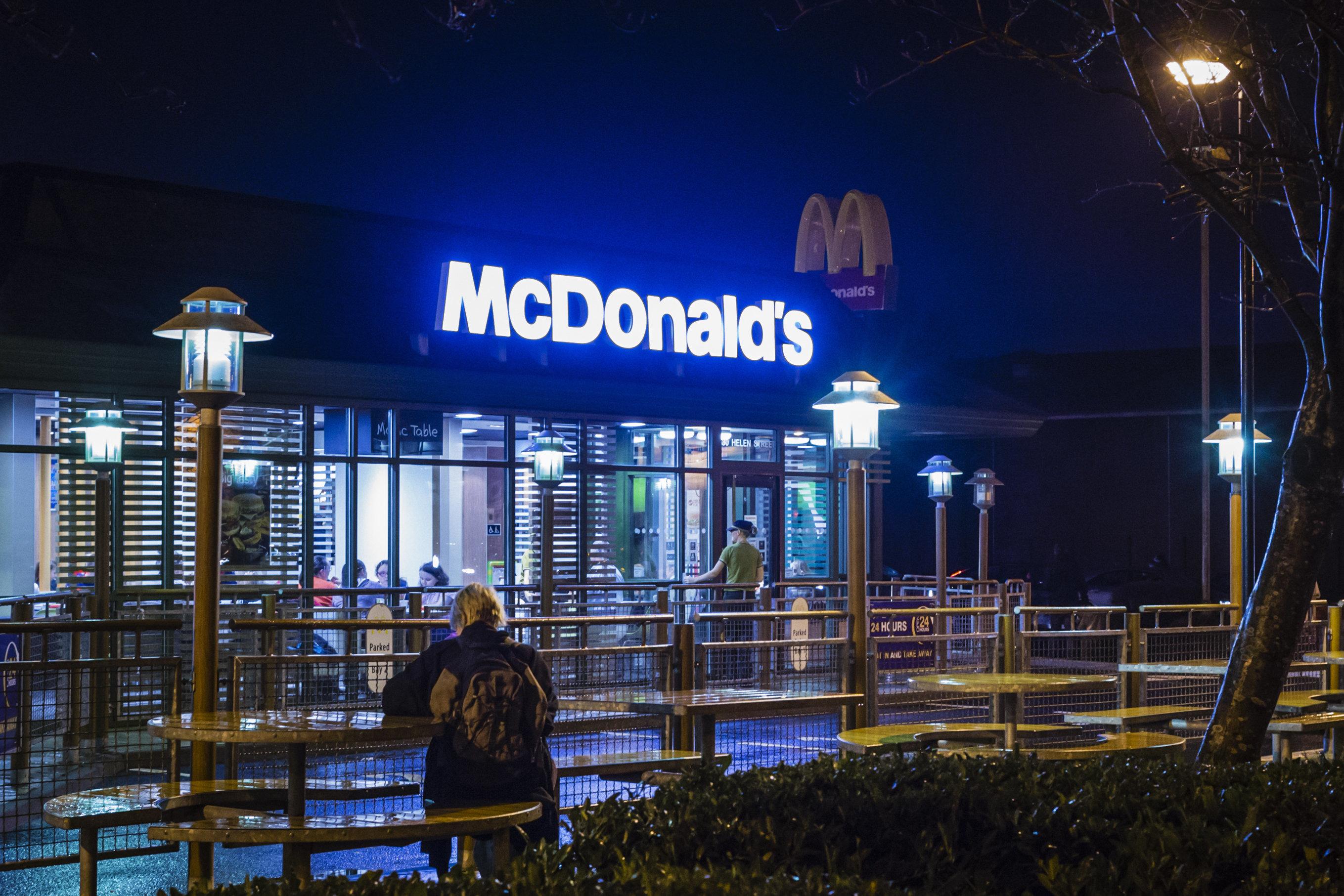 McDonalds: Mann macht den