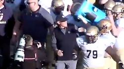 Winning High School Football Coach Loses It After Ice Bucket