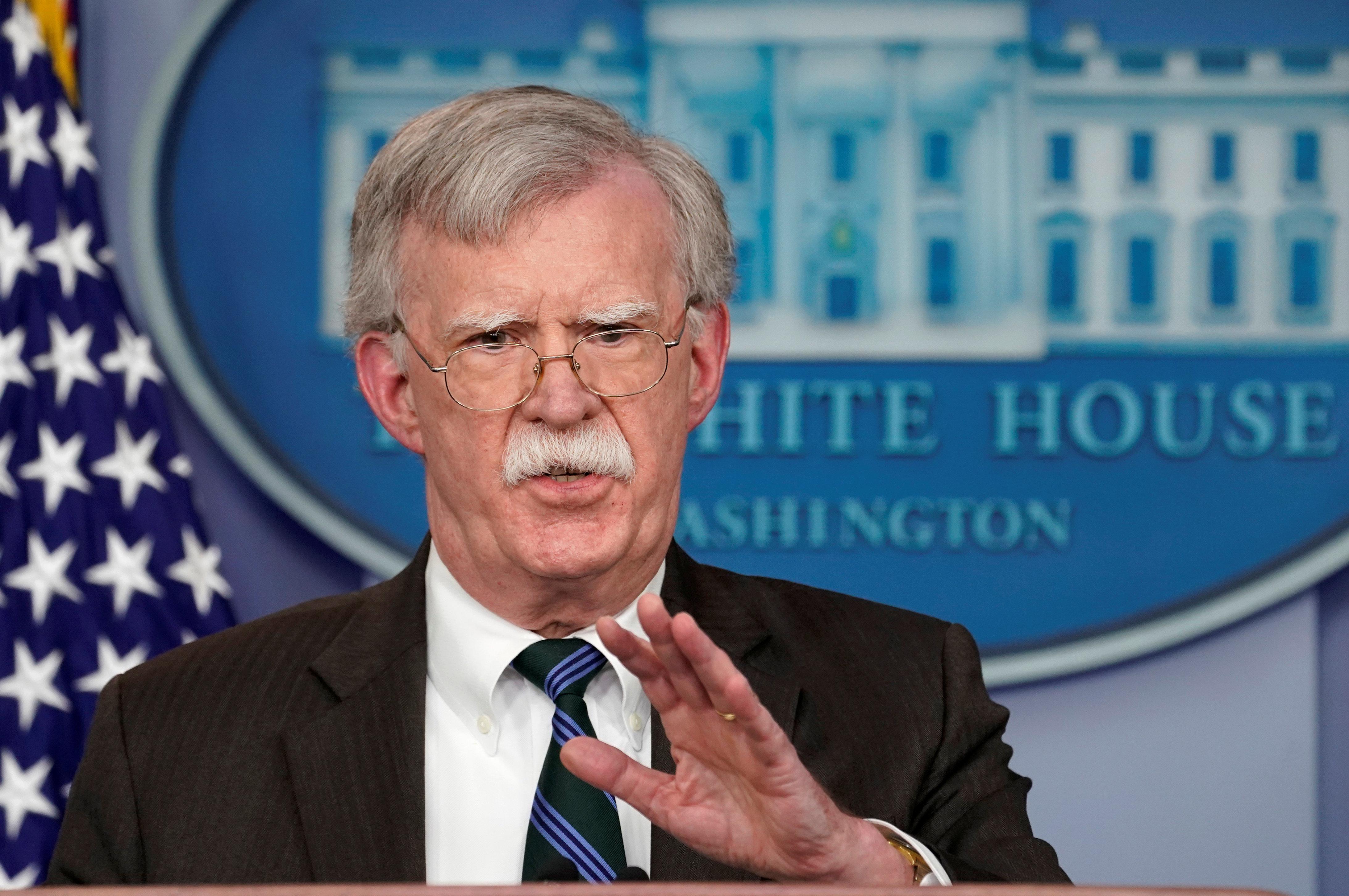 National Security Adviser John Bolton said he had no reason to listen to an audio recording ofJamal Khashoggi's