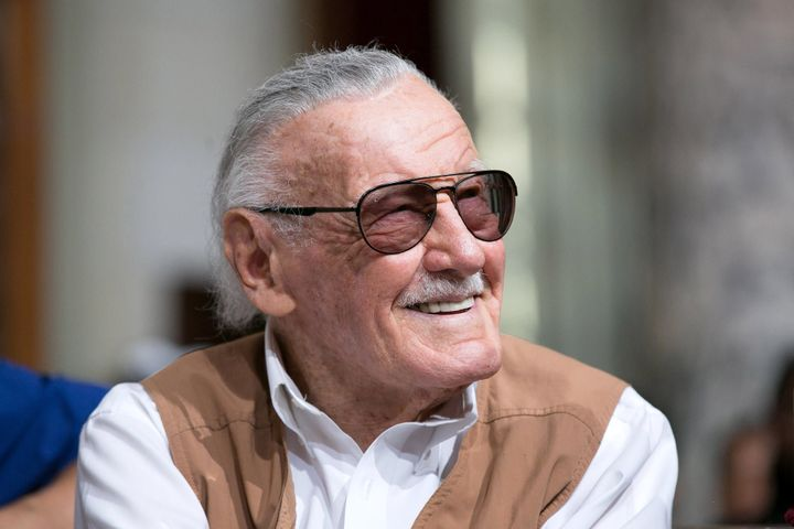 The beloved comic book creator died Nov. 12 at the age of 95.