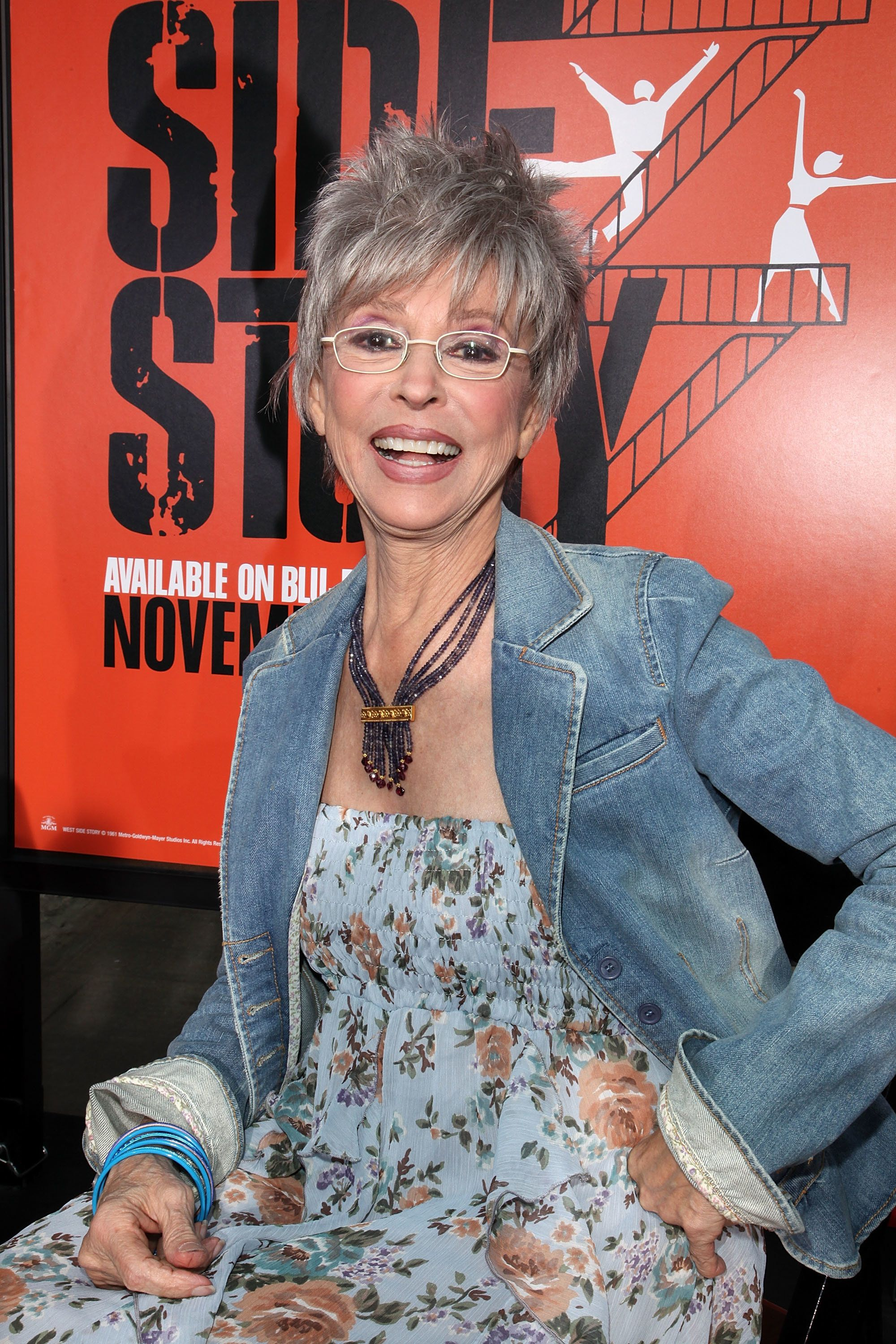 "Rita Moreno at the 50th anniversary celebration of ""West Side Story."""