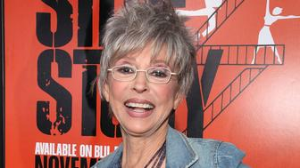 HOLLYWOOD, CA - NOVEMBER 15:  Rita Moreno attends 'West Side Story: 50th anniversary' hand & footprint ceremony at Grauman's Chinese Theatre at Grauman's Chinese Theatre on November 15, 2011 in Hollywood, California.  (Photo by Brian To/FilmMagic)