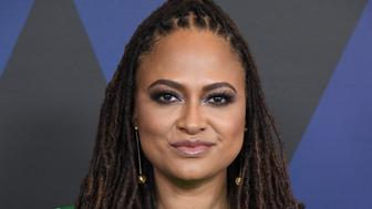 HOLLYWOOD, CA - NOVEMBER 18:  Ava DuVernay attends the Academy of Motion Picture Arts and Sciences' 10th annual Governors Awards at The Ray Dolby Ballroom at Hollywood & Highland Center on November 18, 2018 in Hollywood, California.  (Photo by Steve Granitz/WireImage)