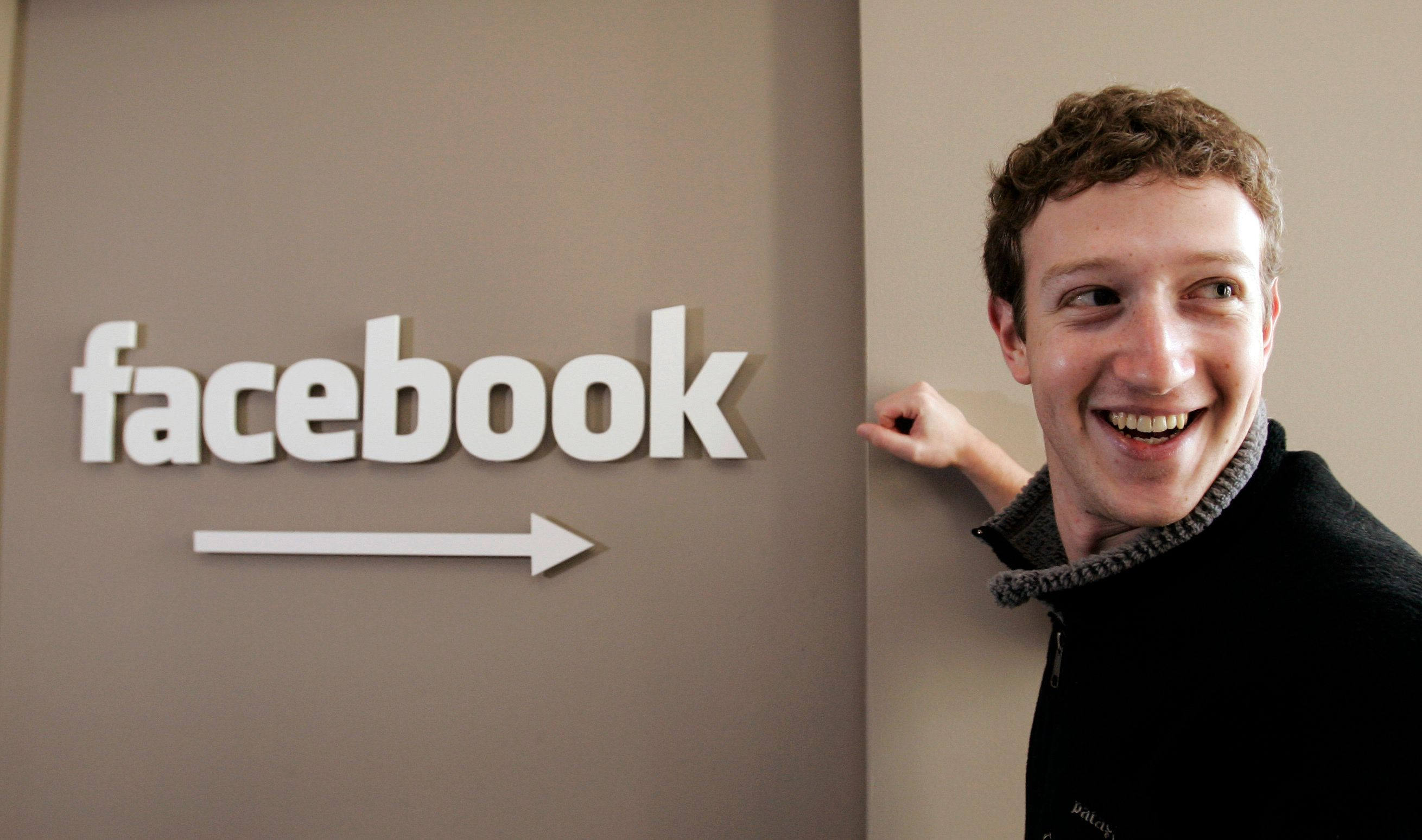 "FILE- This Feb. 5, 2007 file photo shows Facebook founder Mark Zuckerberg at Facebook headquarters in Palo Alto, Calif. Zuckerberg's boyish appearance, even today, is a reminder of just how young he was when he created what would become the world's biggest social network, back in his dorm room at Harvard. ""I didn't know anything about building a company or global internet service,"" he wrote in January 2018. ""Over the years I've made almost every mistake you can imagine."" (AP Photo/Paul Sakuma, File)"