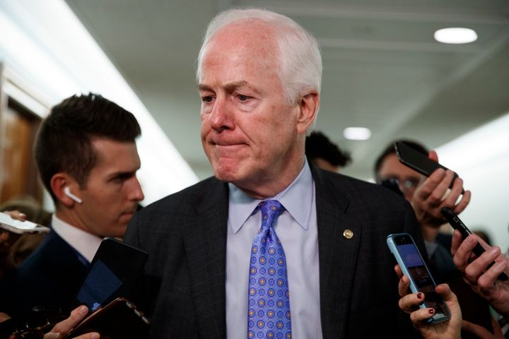 "Sen. John Cornyn (R-Tex.) said this week that Texas is ""no longer ... a reliably red state."""