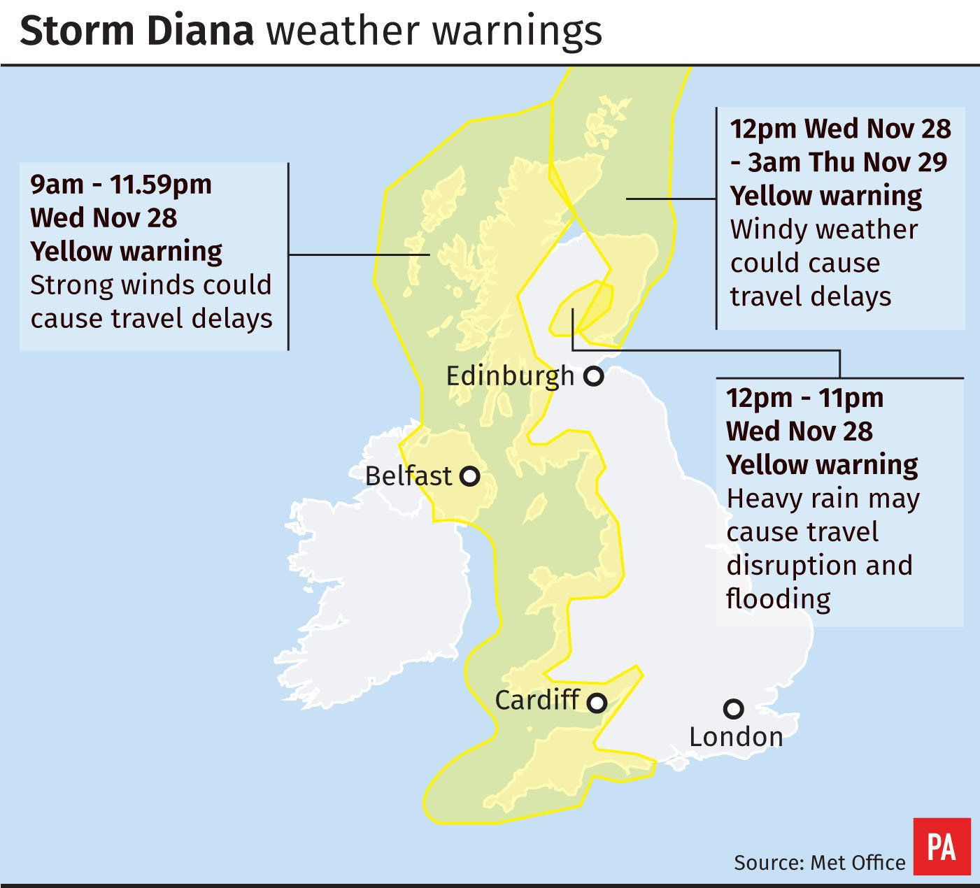 Disruption from winds set to continue around Wales