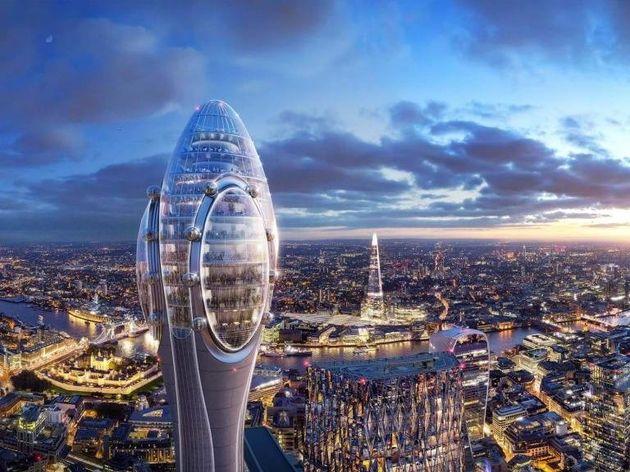 Tulip: Γιατί ο νέος ουρανοξύστης του Λονδίνου μπορεί να «σβήσει» τα ραντάρ του