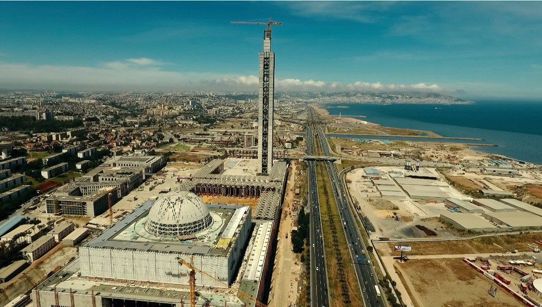 Grande mosquée d'Alger: plus de 90 % du taux d'avancement des