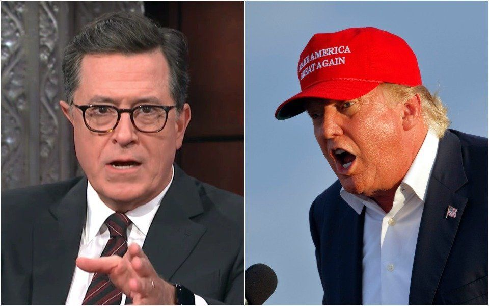 Stephen Colbert Reveals The Only Reason He'd Wear A Donald Trump MAGA