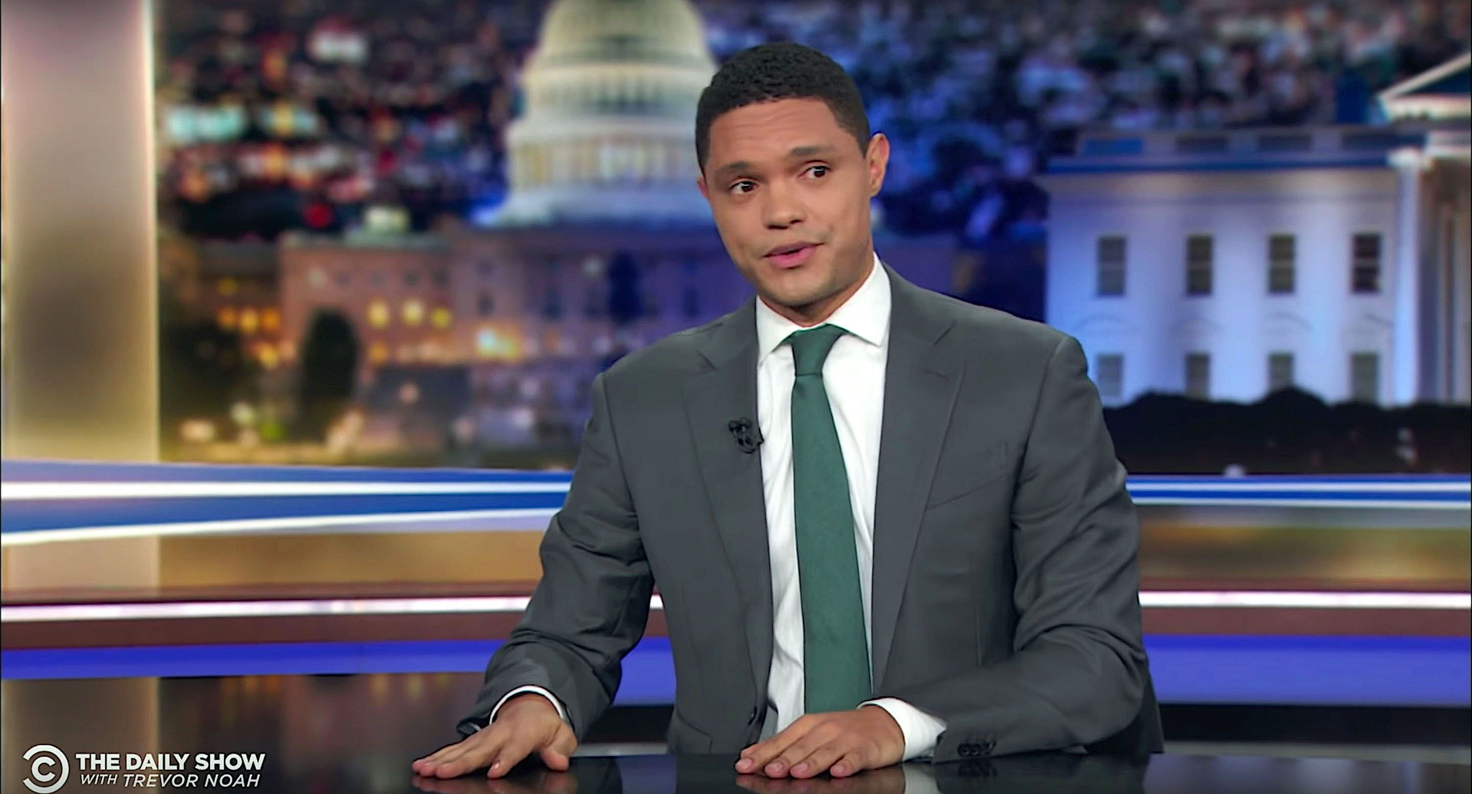 "Trevor Noah, host of ""The Daily Show"""