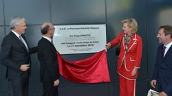 La princesse Astrid de Belgique inaugure l'Ecole belge de Rabat
