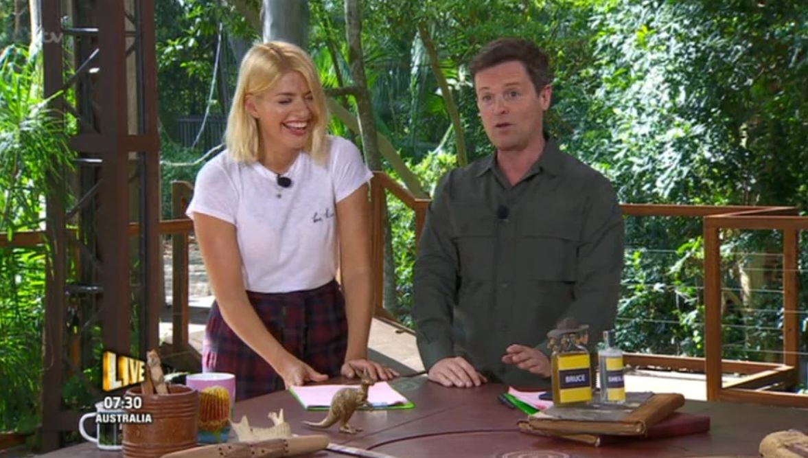 Holly Willoughby Reportedly Has A Massive I'm A Celebrity Entourage