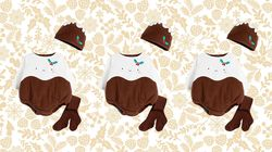 Dress Your Baby As A Christmas Pudding (And 7 Other Cute Outfits For The Festive