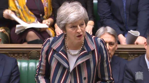 Steht für ihren Brexit-Plan unter Beschuss: Premierministerin Theresa May