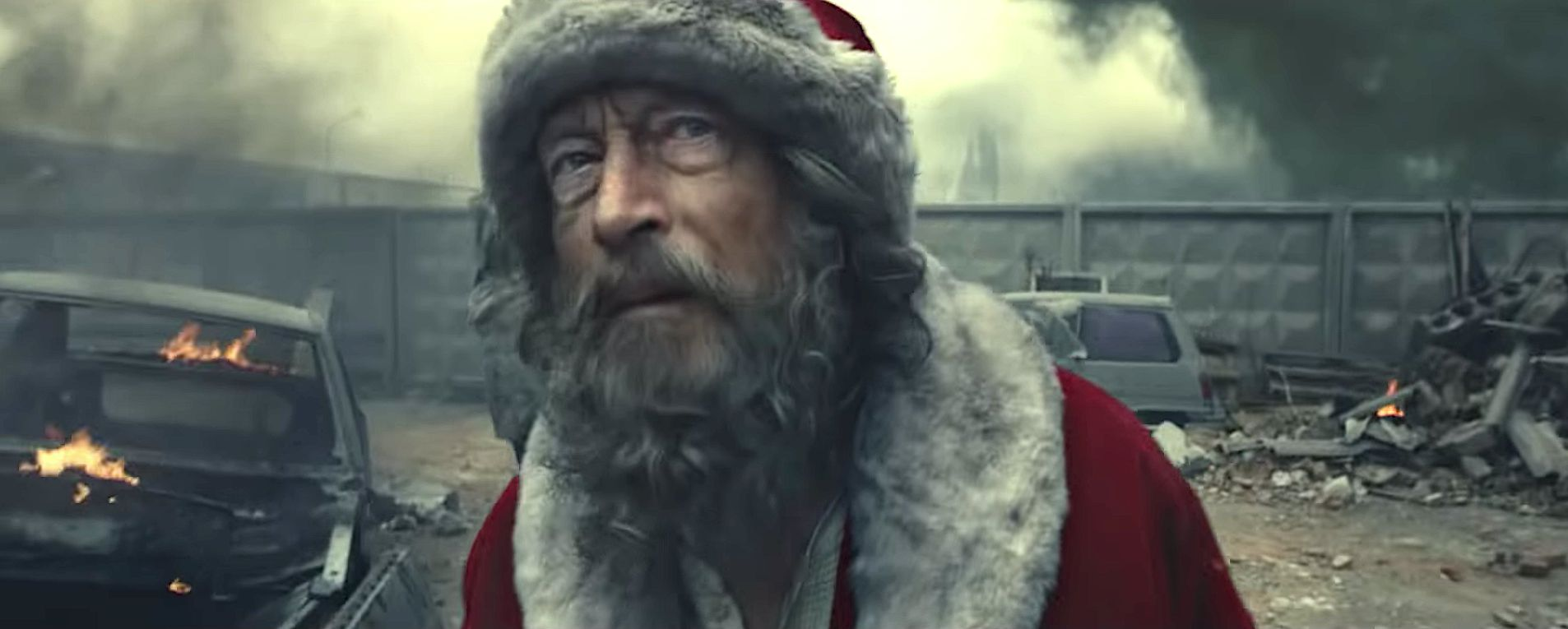 Harrowing Holiday Ad Shows Santa Searching For Missing Girl In War