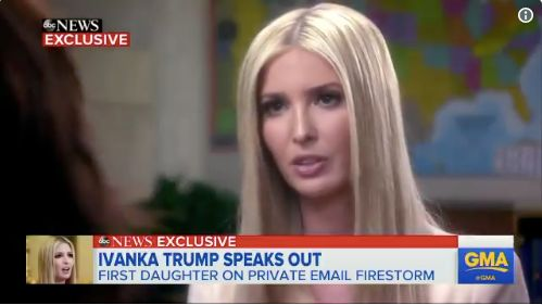 Ivanka Trump Says 'Lock Her Up' Doesn't Apply To