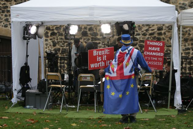 I'm The Man Who Stands Outside Parliament Every Day Protesting Brexit – Here's