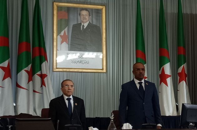 Le secrétaire général de la Présidence de la République, Hebba El...