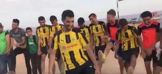 Le Borussia Dortmund partage une vidéo de supporters marocains qui