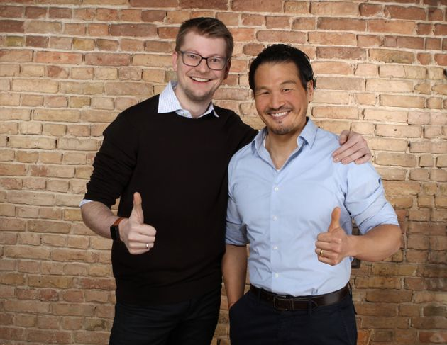 Richard Lohwasser and Kyung-Hun Ha felt driven to act on climate change and accelerate the use of renewable