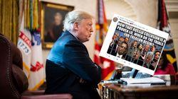 Trump verbreitet ein Foto auf Twitter – ein Detail darauf wird für ihn zum