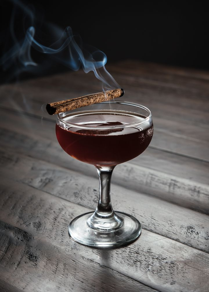 The Timberbeast cocktail uses DIY pecan-infused bourbon — a delicious addition.