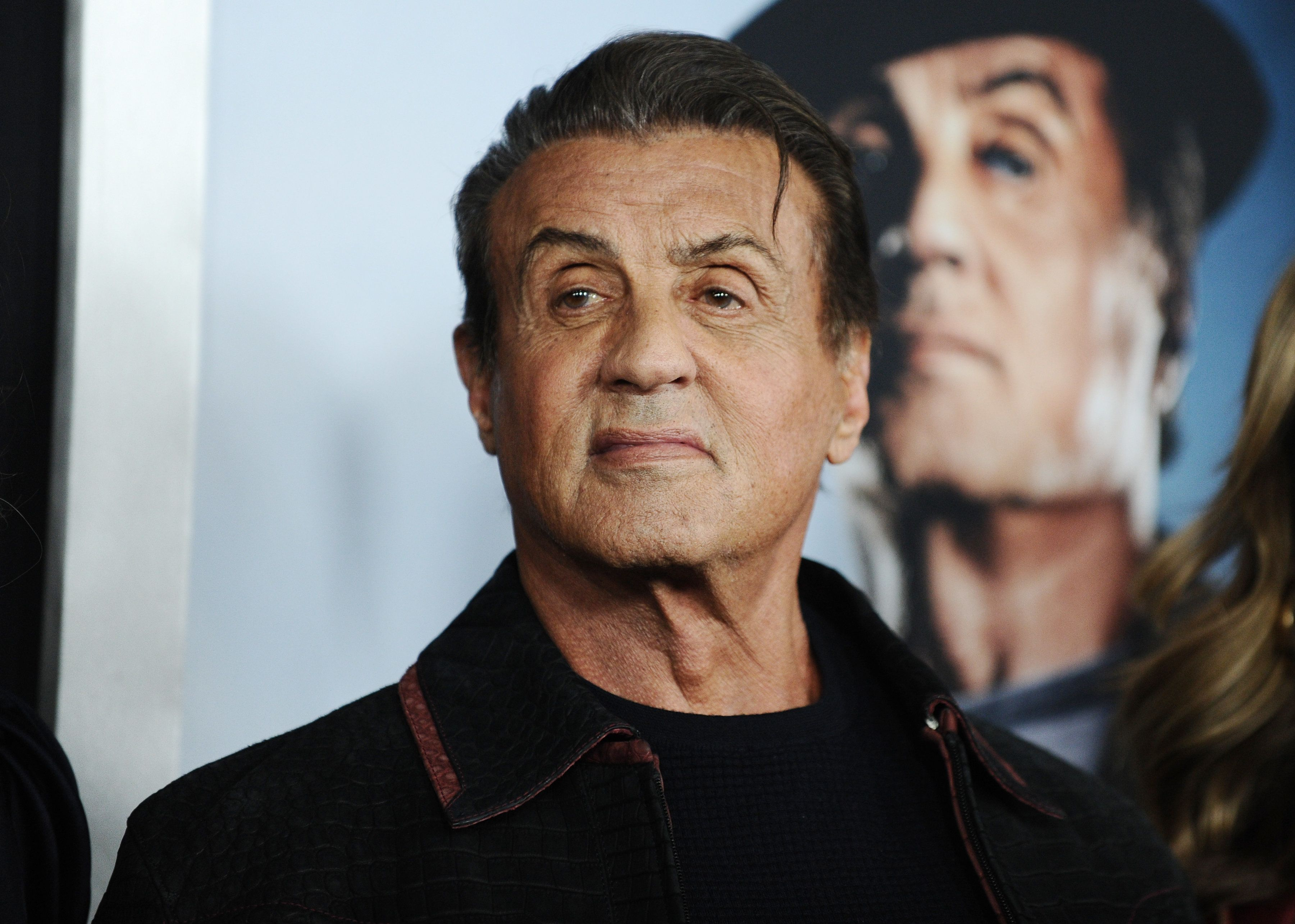 NEW YORK, NEW YORK - NOVEMBER 14: Sylvester Stallone attends the 'Creed II' New York Premiere at AMC Loews Lincoln Square on November 14, 2018 in New York City. (Photo by Daniel Zuchnik/WireImage)
