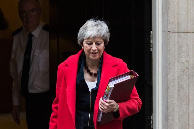 Großbritanniens Premierministerin Theresa May kämpft um ihren Brexit-Deal.