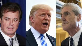 Paul Manfort, President Donald Trump, Special Counsel Robert Mueller