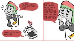 This Comic Perfectly Captures How Nerve-Racking It Is To Text Your