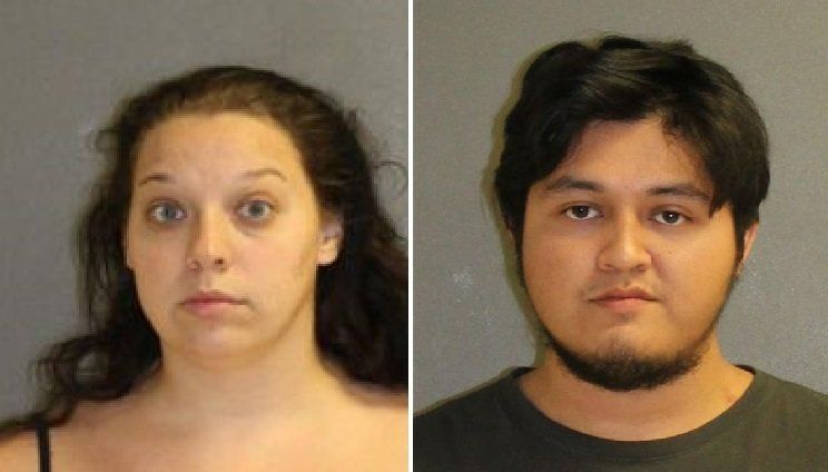 Amanda Ramsey, 30, and her boyfriend, Louis Rosas Nunez, 22, were arrested in Volusia County on Tuesday.