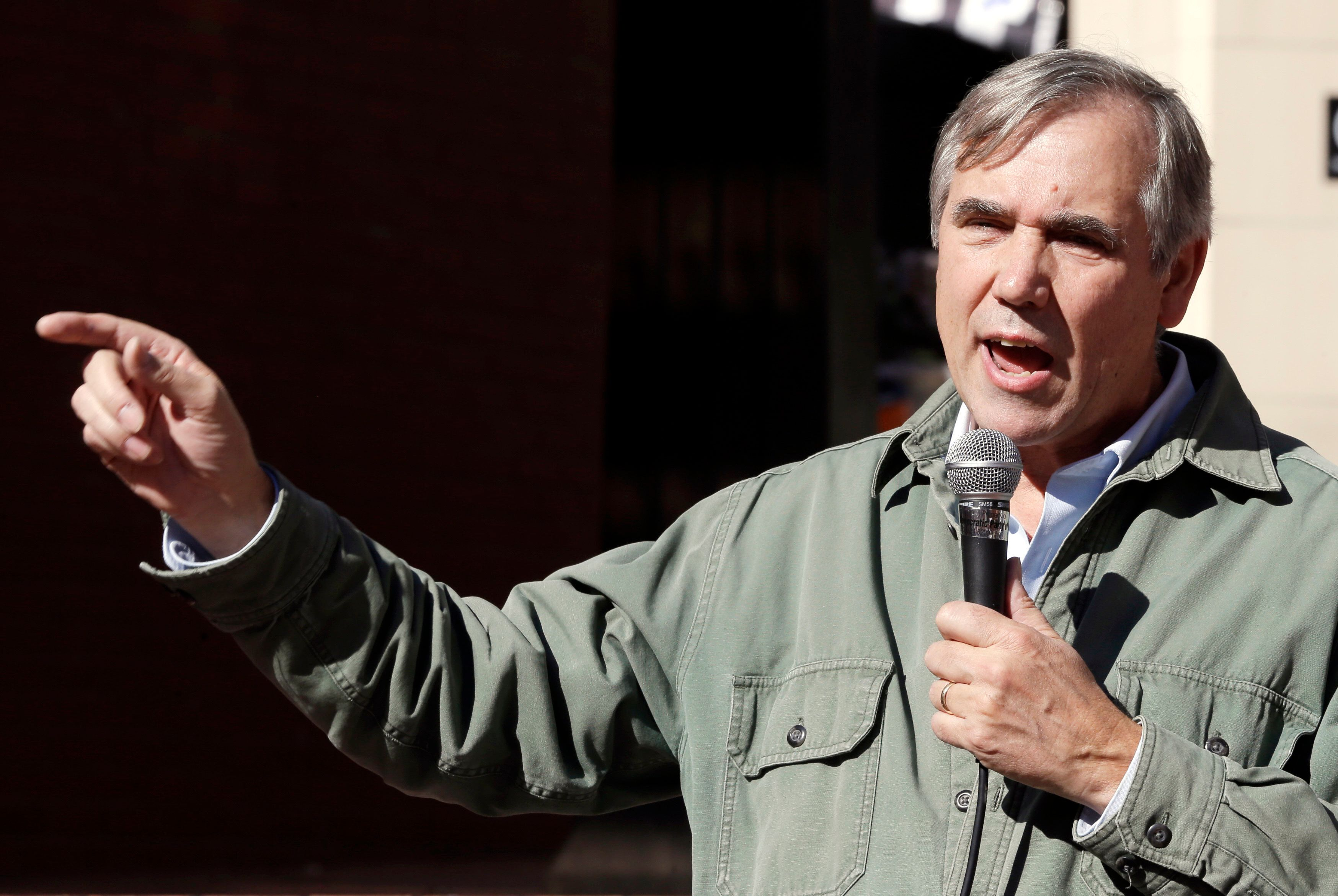 "Sen. Jeff Merkley (D-Ore.) says, ""It's outrageous that we pay far more than the Canadians or the Europeans w"