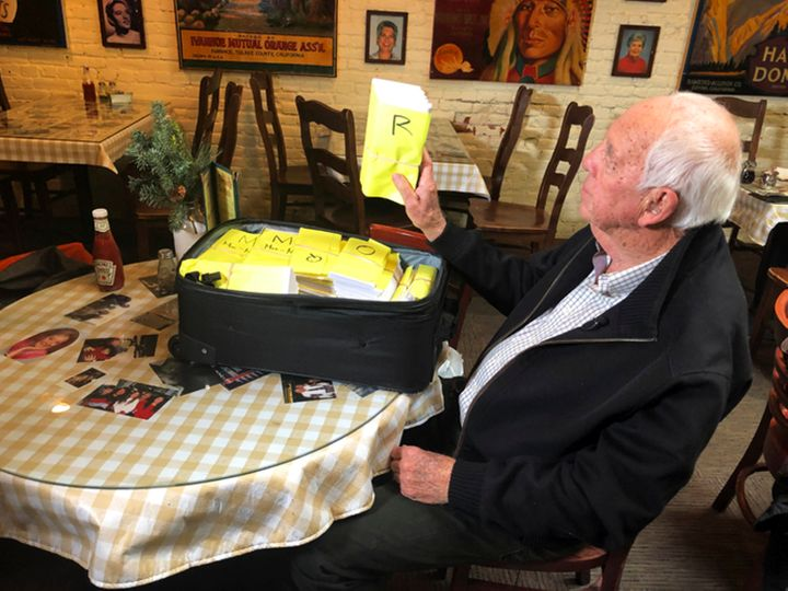 Bob Wilson personally prepared the 1,085 checks and traveled to Chico to deliver them himself.