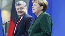 Poroschenko fordert Hilfe von Merkel: