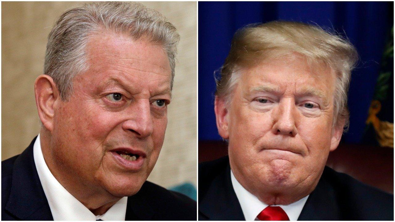 Al Gore and Donald Trump