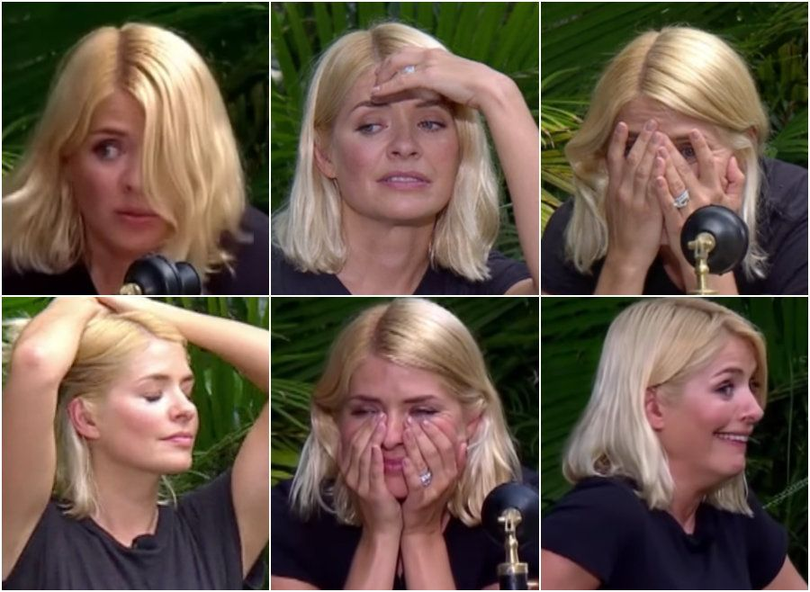 The 'I'm A Celebrity' Eating Trial Was A Real Endurance Test For Holly