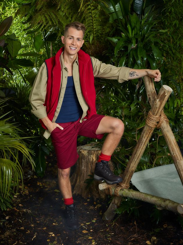 James before entering the jungle earlier this