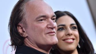 LOS ANGELES, CA - JUNE 12:  Director Quentin Tarantino and Daniella Pick arrive at the U.S. Premiere of 'The Beguiled' at Directors Guild of America on June 12, 2017 in Los Angeles, California.  (Photo by Axelle/Bauer-Griffin/FilmMagic)