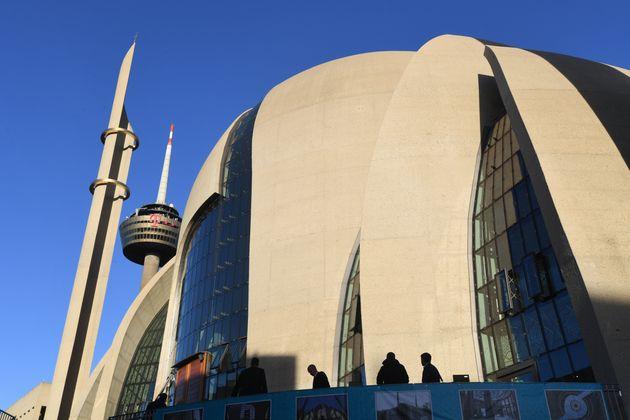 Die neu eröffnete Ditib-Moschee in Köln.