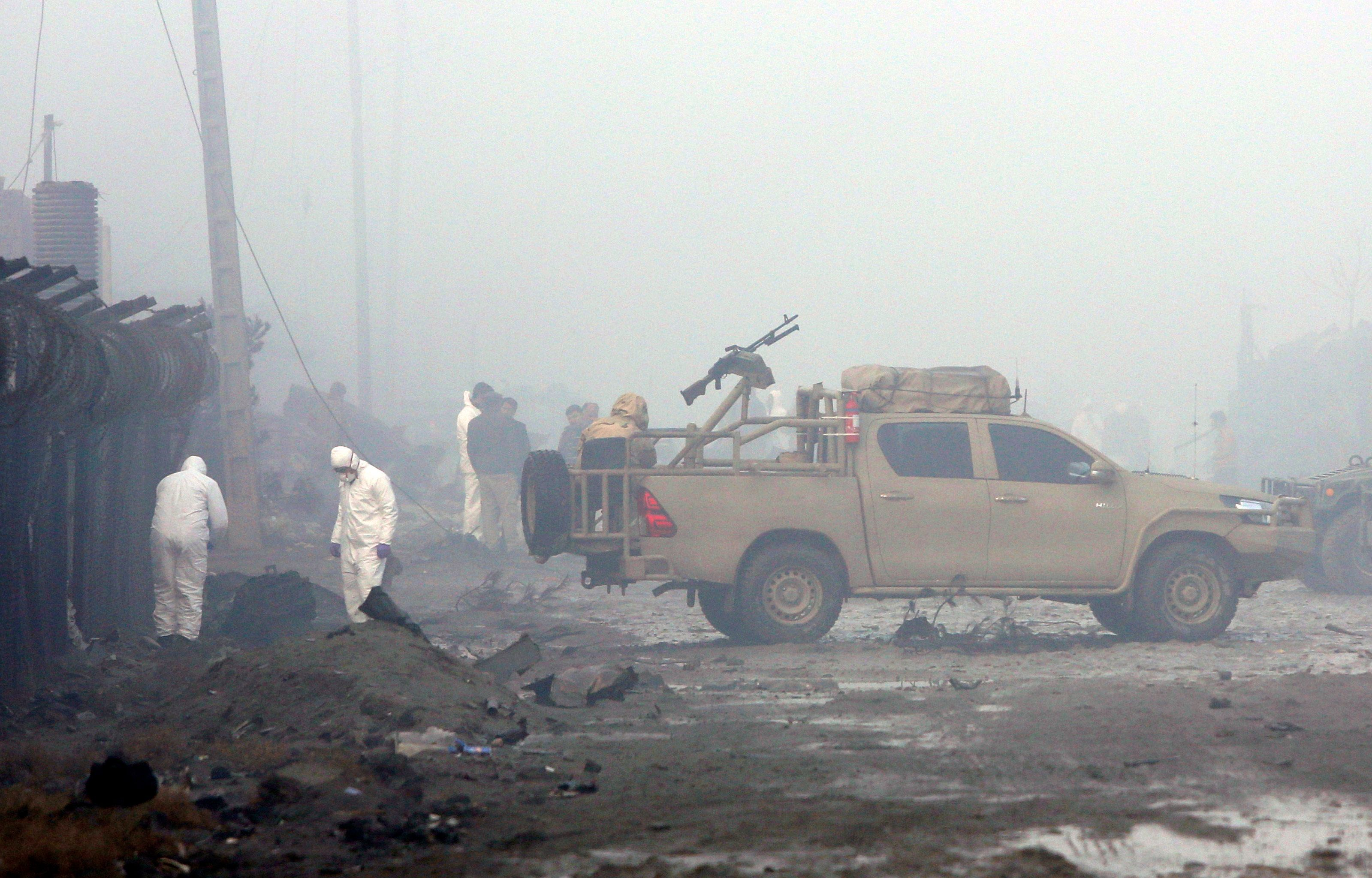 Afghan officials say Taleban attack in Kabul killed six people