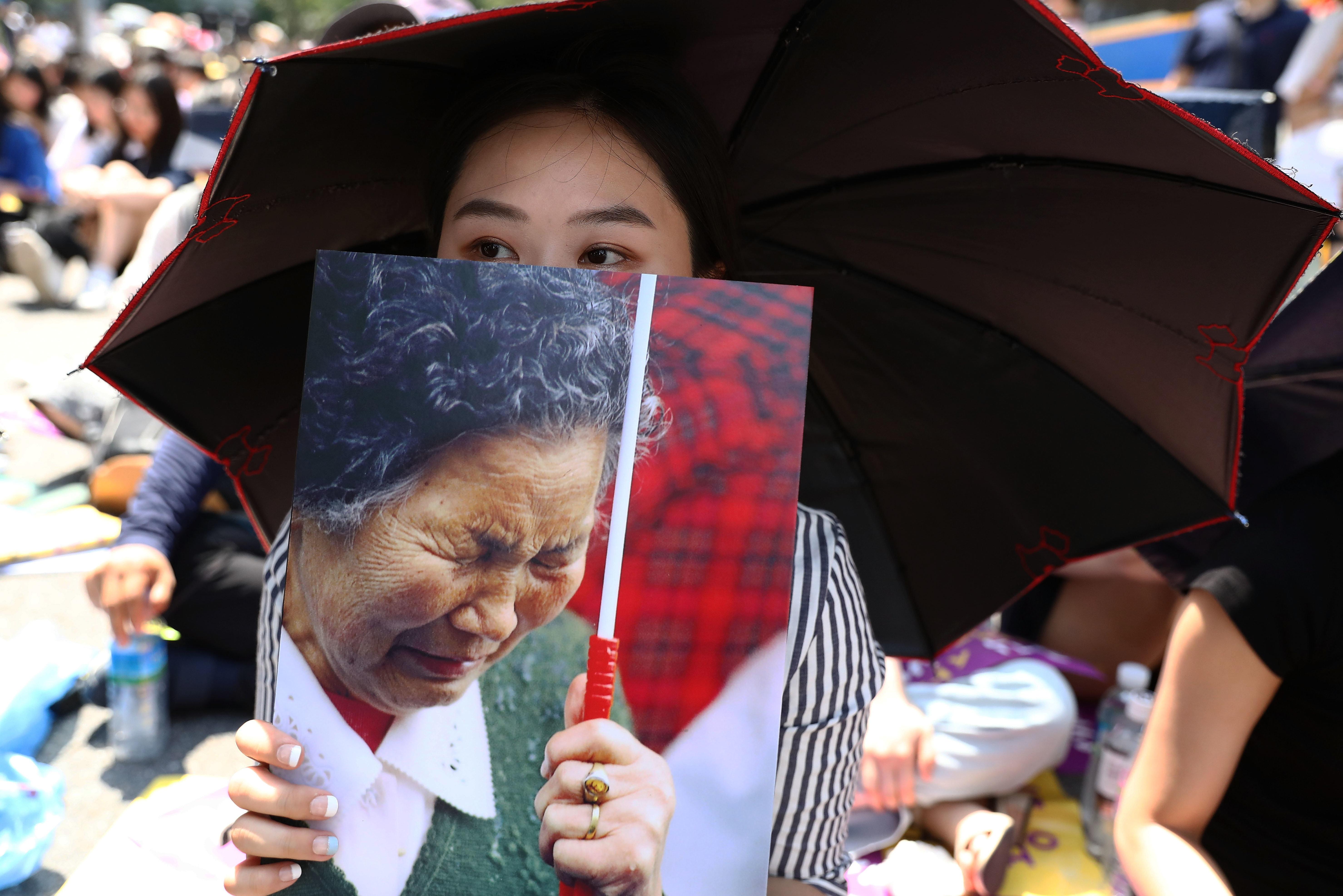 Γυναίκα στη Νότια Κορέα...