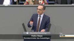 Migrationspakt: Bei dieser Aussage von Maas über die AfD muss Merkel